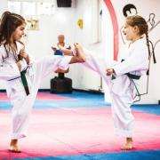 Kampfkunst und Kinder passen gut zusammen