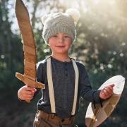 Training mit Stock, Schild und Schwert in Kiel