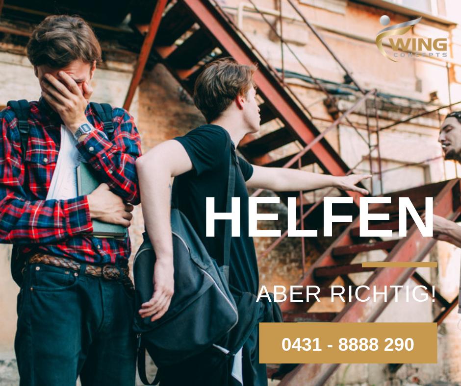 Helfen aber richtig - Selbstverteidigung in Kiel