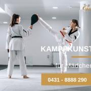 Kampfkunst für Mädchen - Kinder - Jugendliche - Kampfsport - Selbstverteidigung - Kiel
